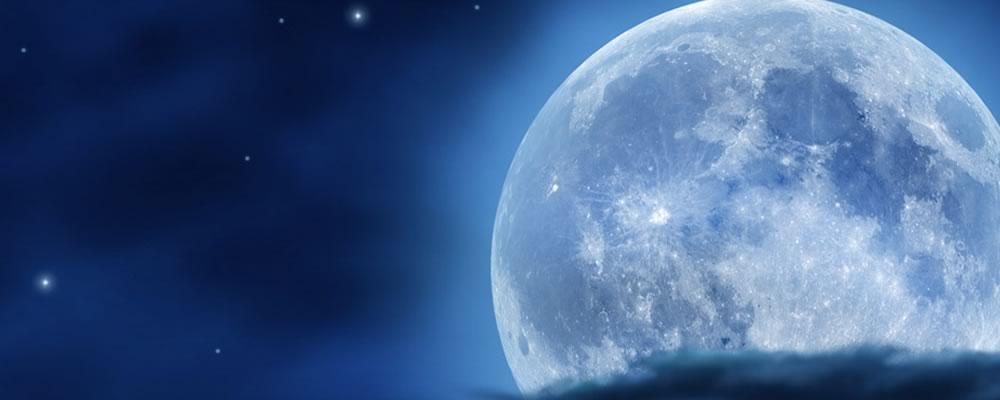 月の光に当てて浄化